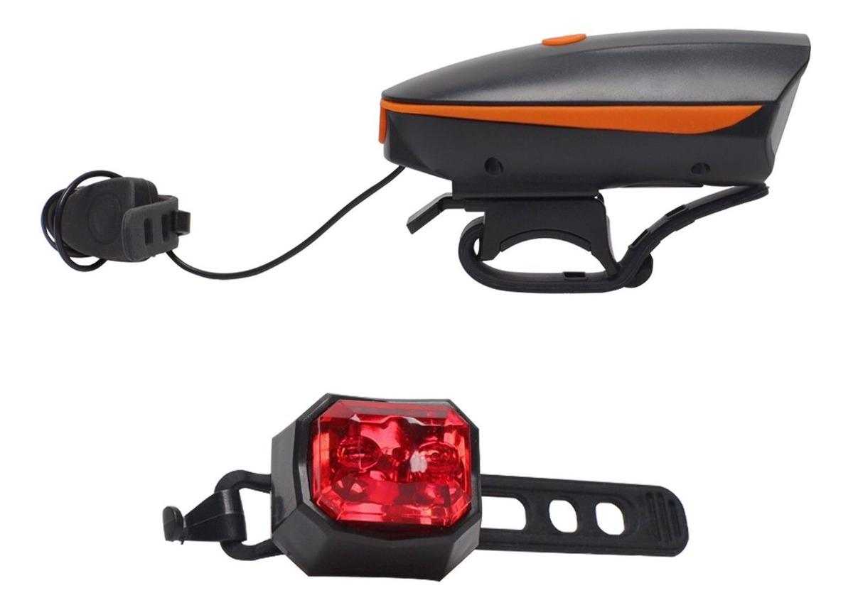 Luz de bicicleta rojo impermeable luz trasera