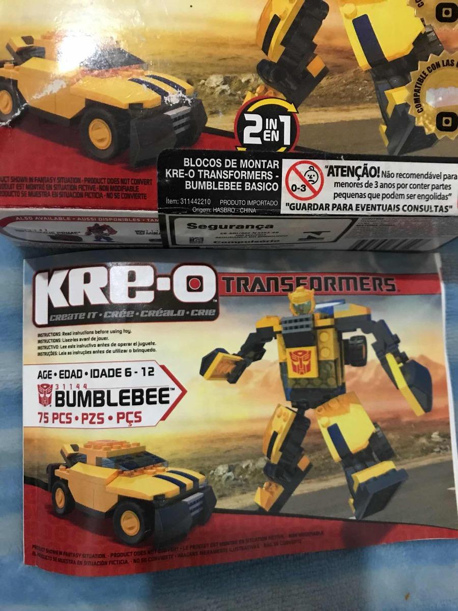 Kre O Transformers Bumblebee Hasbro Completo Como Nuevo 65000