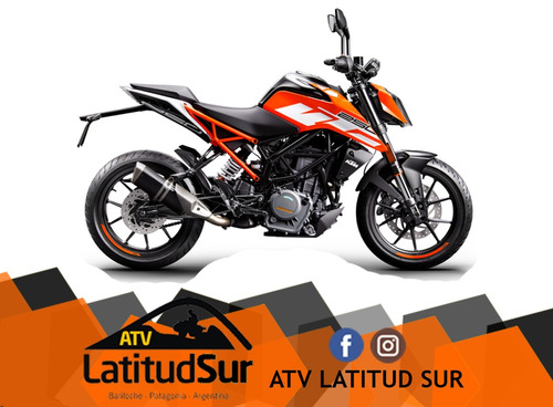 ktm duke 250 2018 0km - atv latitud sur