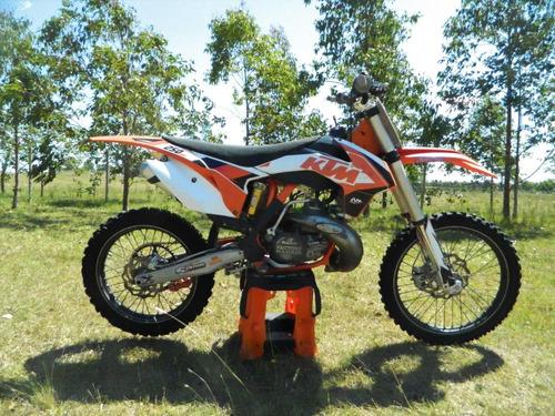 ktm sx 250 2 tiempos kit 300cc original amortiguador ohlins