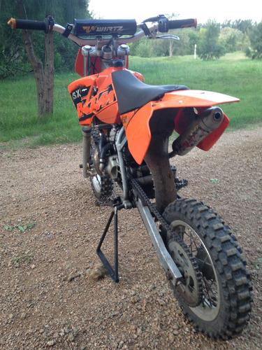 ktm sx 50 -impecable- un cañón!!! moto cross niño