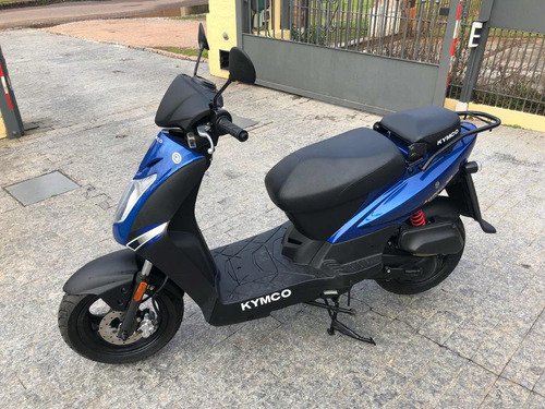 kymco 50 cc agility 0km! scooter azul muy linda 4t