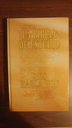 la biblia de estudio . dios habla hoy . con deuterocanónicos