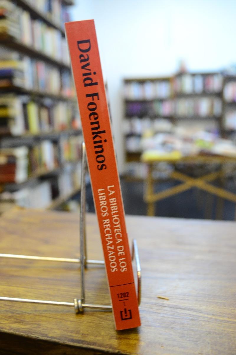 la biblioteca de los libros rechazados. david foenkinos. Cargando zoom.
