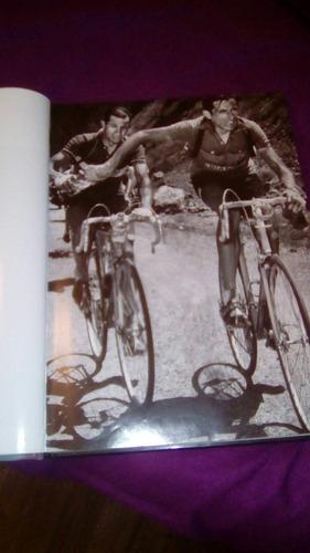 la bicicleta , libro con excelente fotografia