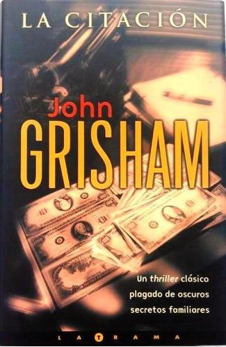 la citación john grisham