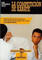 la competición de karate