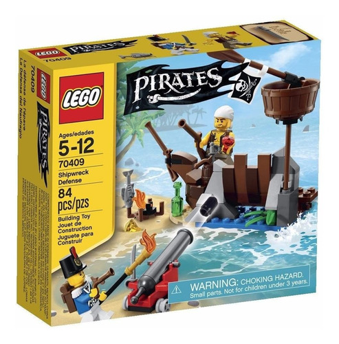 la defensa del naufragio - lego pirates