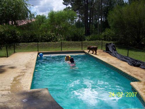 la floresta: aire ac, piscina. libre desde el 10 de enero