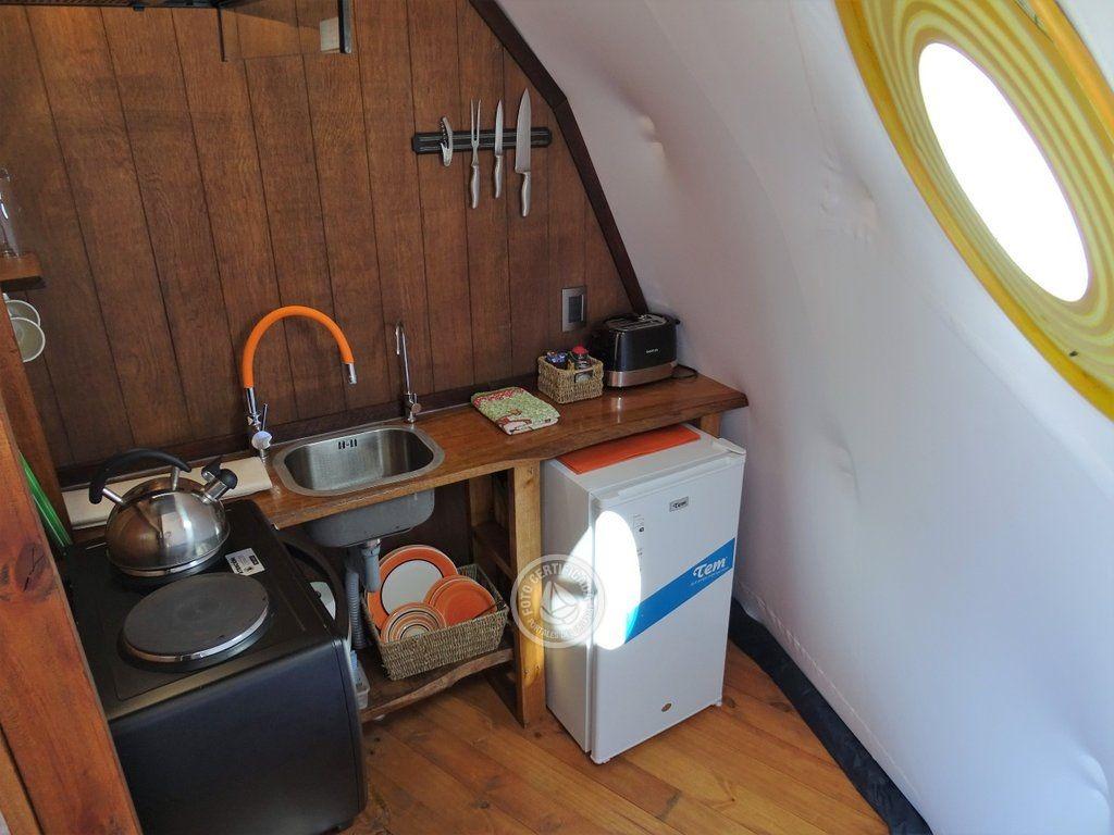 la guarida - domo en villa serrana