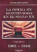la opera en montevideo en el siglo xx. volumen 3. 1921-1930