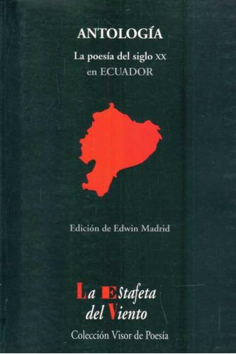 la poesia del siglo xx en ecuador