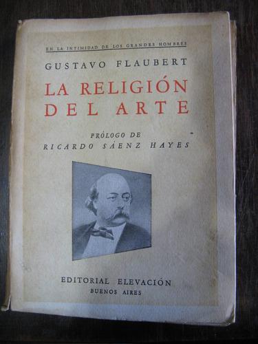 la religión del arte. g. flaubert