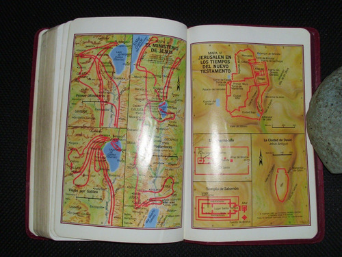 la santa biblia -con 7 mapas a color broadman&holman publis