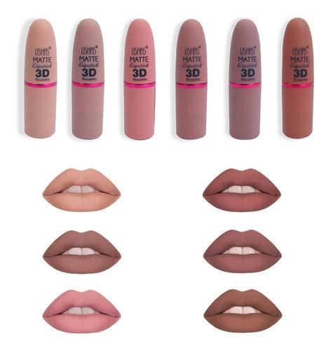 Miss Rose-perfilador de labios de larga duración, lápiz