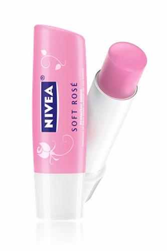 labial nivea soft rosé 4.8 gr