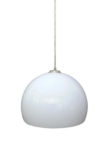 lampara colgante metal blanco negro naranja mobelstore
