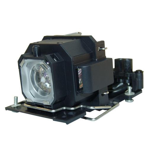 lámpara con carcasa para hitachi cp-rx70 / cprx70 proyector
