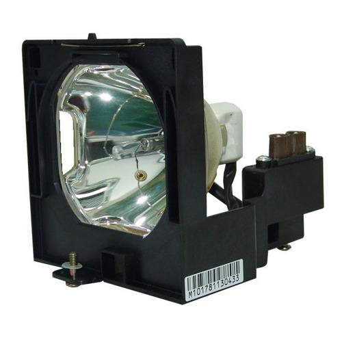 lámpara con carcasa para sanyo plv60 proyector proyection