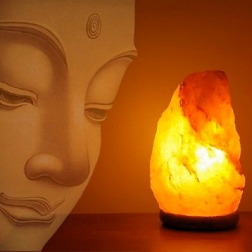 lampara de sal ,para tu hogar  barbacoa energia y buena onda