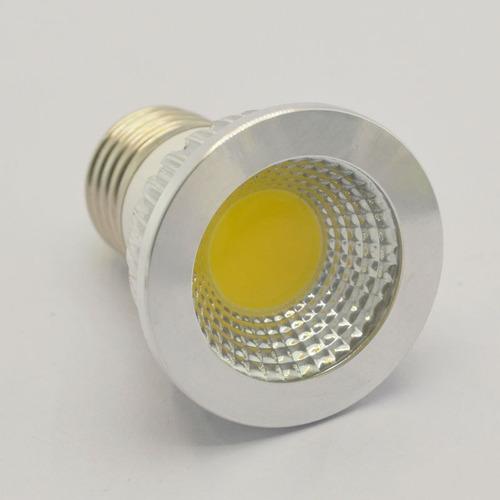 lampara dicroica led 5 w 220 v e27 - bi pin fría cálida  5+1