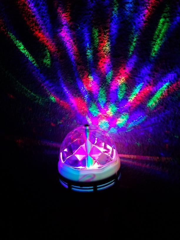 FiestasReun LedAmbientación Giratoria Multicolor Lámpara Lámpara gYfv7yb6