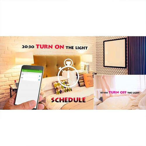 lampara inteligente led iview isb800 smart wifi amv