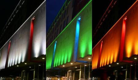 lampara led 3w rgb 16 colores c/ control remoto bajo consumo