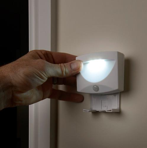 lámpara led portátil con sensor planeta
