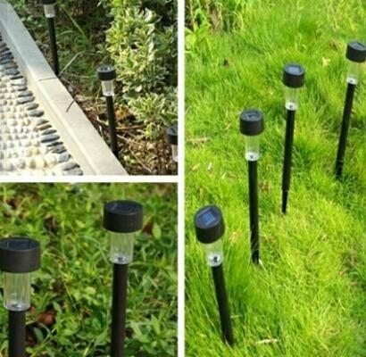 Superior Lampara Luz Solar   Antorcha Farol Para Jardin