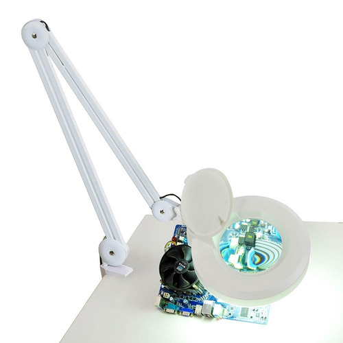 lampara pie lupa multifocal p / consultorio cosmetologia y+