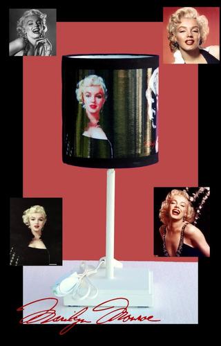 lámpara portátil de marilyn monroe
