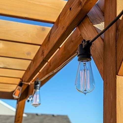 lampara vintage edison led 6 watts e27 filamento antigua