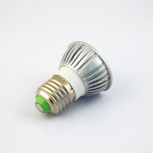 lamparita led 3 watt 220 volts blanco frio e27 rosca comun