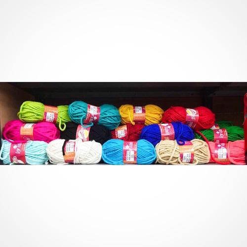 lana gruesa tejerapido colores 5uds la fabriquita