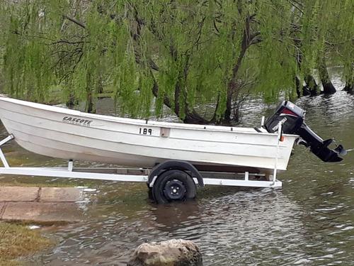 lancha bote fiordo
