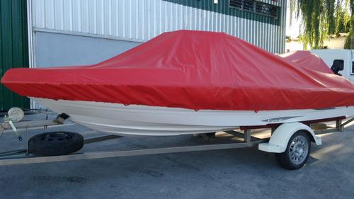 lancha krause star 160, mercury 90 hp, nueva.20 horas de uso