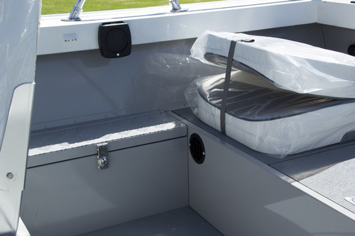 lancha metalglass mg175 duraluminio con trailer!