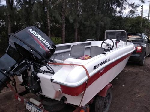 lancha modelo open fishing 460