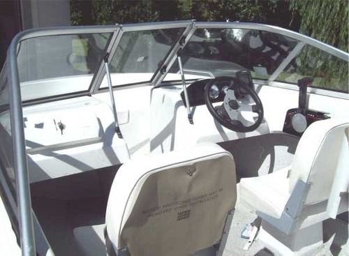 lancha open brava con motor hidea 60 hp 2 tiempos