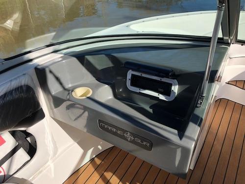 lancha open quicksilver 555 con evinrude 115 hp con 32 hs !!