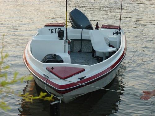 lancha pescadora 4,75 eslora, 1,87 manga, puntal 0,90 mtrs