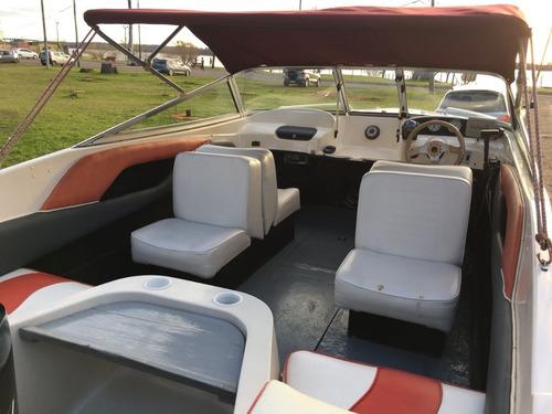 lancha starcraft 520 con mercury 100 hp 2t y trailer