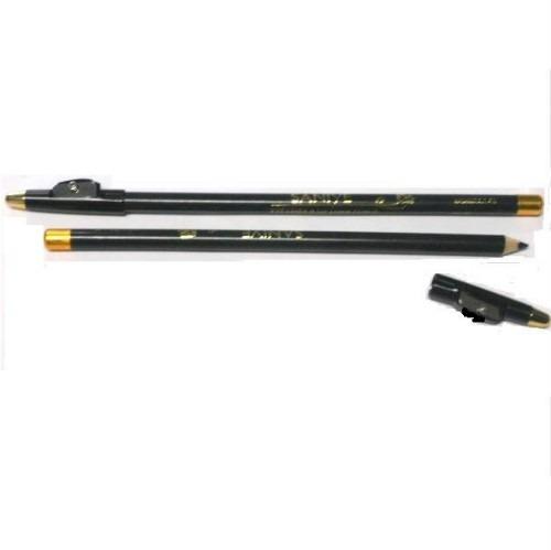 lápiz delineador de ojos c/sacapuntas color negro a solo $69