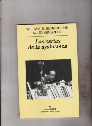 las cartas de la ayahuasca burroughs ginsberg