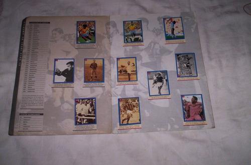 las estrellas de america 1995.album de figuritas.