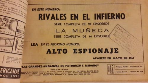 las grandes andanzas de patoruzú e isidoro nº 100 abril 1965