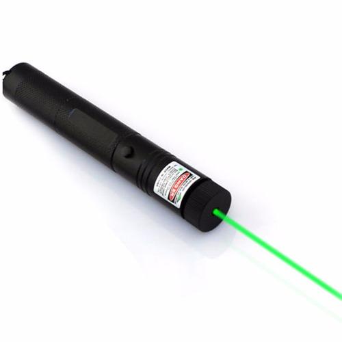 laser verde grado militar. puntero, con extras