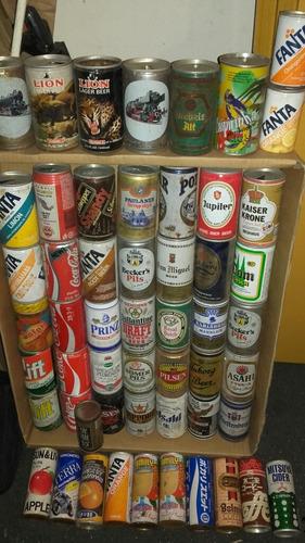 latas vacias-coleccionables-