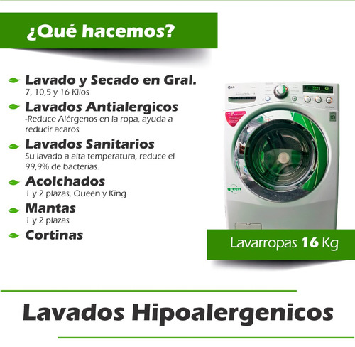 lavadero de ropa lavanderia green